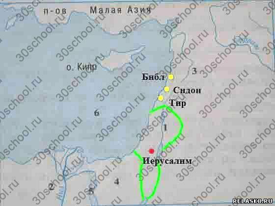 Заполните Контурную Карту Древнее Двуречье