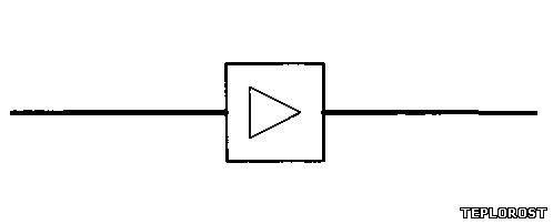 Графическое обозначение расходомера на схеме